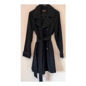 Dana Buchman Jackets & Coats - LIKE NEW | Dana Buchman Black Trench Coat
